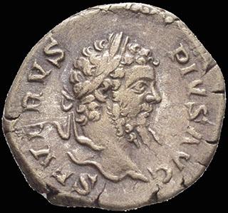Римская империя. Септимий Север. Денарий 207 г. RIC 253. Серебро