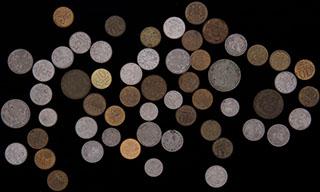 Лот из монет 1992-2015 гг. 56 шт.