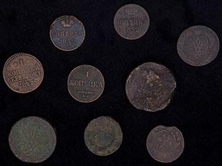 Лот из монет 1750-1852 гг. 9 шт.