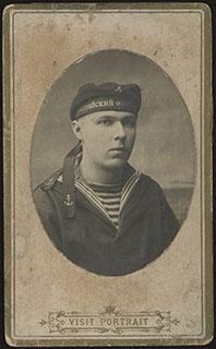 Фотография матроса Балтийского флота