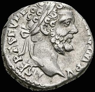 Римская империя. Септимий Север. Денарий 195 г. RIC 63. Серебро
