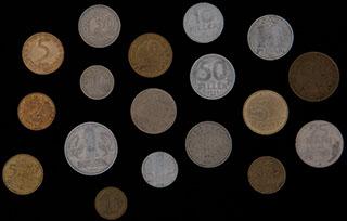 Лот из монет стран Восточной Европы 1951-2013 гг. 18 шт.