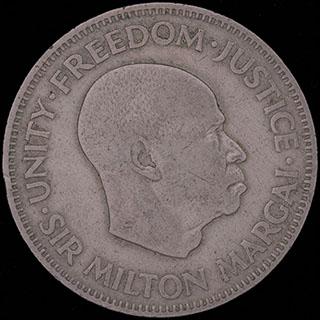 Сьерра-Леоне. 20 центов 1964 г. Медно-никелевый сплав