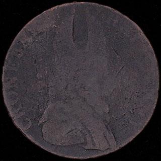 Ирландия. 1/2 пенни 1789 г. Медь