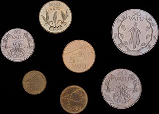 Вануату. Лот из монет 1999-2010 гг. 7 шт.