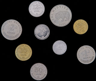 Хорватия. Лот из монет 2001-2009 гг. 9 шт.