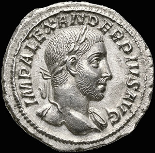Римская империя.Александр Север. Денарий 231-235 гг. RIC 250. Серебро