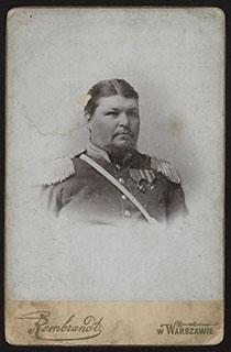 Фотография кавалера орденов Св. Анны III ст. и Св. Станислава III ст.