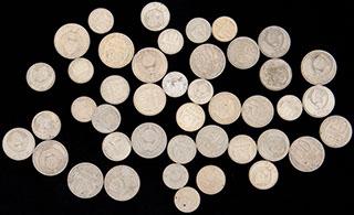 Лот из монет 1974-1991 гг. 44 шт.