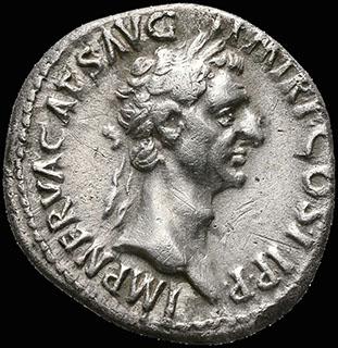 Римская империя. Нерва. Денарий 96 г. RIC 1. Серебро
