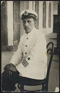 Фотография офицера ВМФ