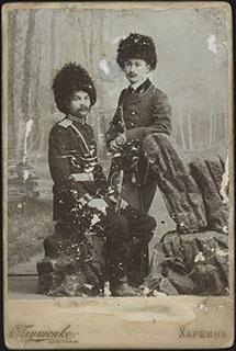 Групповая фотография казаков