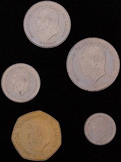 Самоа. Лот из монет 2006 г. 5 шт.