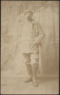 Фотография военного. Почтовая карточка
