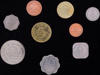 Шри-Ланка. Лот из монет 1978-2011 гг. 9 шт.