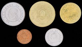 Гондурас. Лот из монет 1957-2006 гг. 5 шт.
