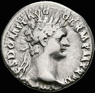 Римская империя. Домициан. Денарий 92-93 гг. RIC 174. Серебро