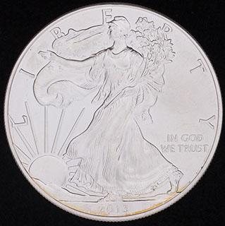 США. 1 доллар 2013 г. Серебро