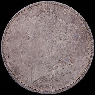 США. 1 доллар 1887 г. Серебро
