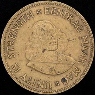ЮАР. 1 цент 1961 г. Латунь