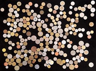 Лот из иностранных монет XX-XXI вв. 246 шт.