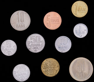 Молдова и Румыния. Лот из монет 1993-2012 гг. 10 шт.