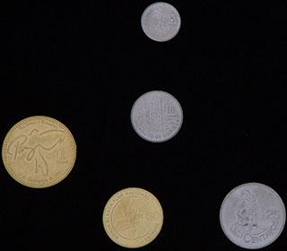 Гватемала. Лот из монет 2010-2016 гг. 5 шт.