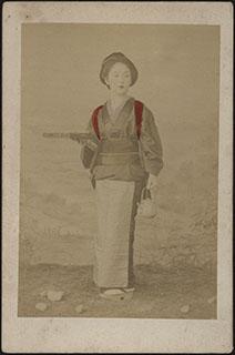 Япония. Фотография девушки