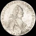 Рубль 1763 г.
