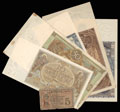 Лот из 7 денежных знаков 1916-1936 гг.