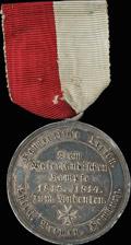Наградная медаль «Ганзейский союз против Наполеона. 1813-1814»