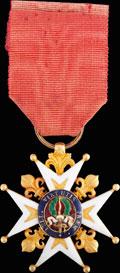 <b><i>Франция.</i></b> Знак офицера военного ордена Св. Людовика