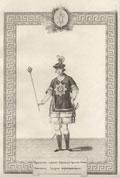 Гравюра «Орденское одеяние Герольда Ордена Святого Апостола Андрея Первозванного»