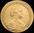 10 рублей 1785 г.