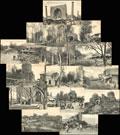 Лот из 14 фото-открыток с видами Самарканда: