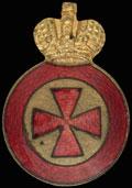 Знак ордена Святой Анны IV степени для ношения на оружии