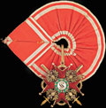 <b>Знак ордена Святого Станислава I-II степени с мечами</b>