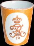 <b><i>Пернов.</i></b> <b>Стакан 3-го гренадерского Перновского Короля Фридриха-Вильгельма IV Прусского полка «В память двухсотлетнего юбилея»</b>