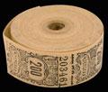Общество потребителей. Членская марка для учета забора товара 200 копеек