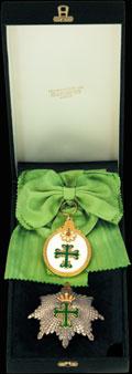Комплект Военного ордена Святого Бенедикта Ависского: