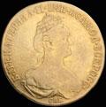 10 рублей 1778 г.