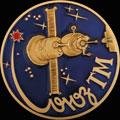 Космический вымпел серии пилотируемых космических кораблей «Союз ТМ»