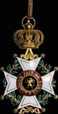 Бельгия. Знак командора ордена Леопольда (II степень) (Ordre dе Léopold)