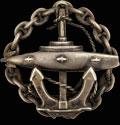 Знак об окончании Офицерского класса подводного плавания