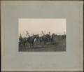 Фотография военного министра генерал-лейтенанта А.Ф. Редигера на смотре войск