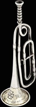 Модель Георгиевской трубы «За отличие в сражении при Кульме 17 августа 1813 г.»