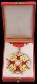 Знак ордена Святого Станислава II степени