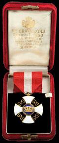 Знак рыцаря ордена Короны Италии