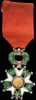 <i>Париж.</i> <b>Знак Кавалера ордена Почетного легиона с бриллиантами</b>