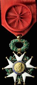 Франция. Третья республика (1870-1951). Знак офицера ордена Почётного Легиона (IV степень) (Legion d'Honneur)